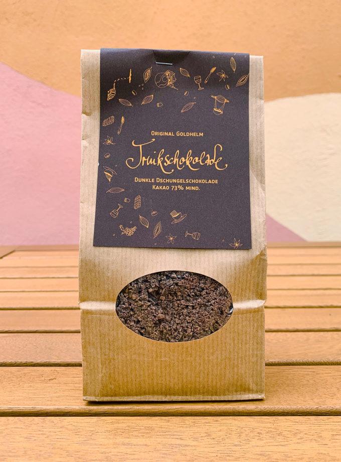 Juli liebt Kaffee - Trinkschokolade Zartbitter