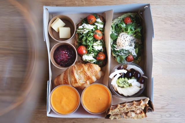 Frühstücksbox fürs Wochenende